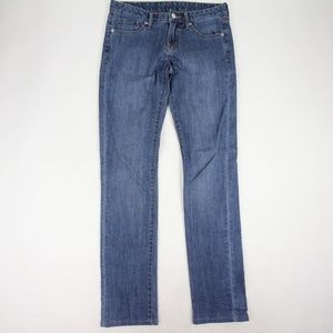 Uniqlo Skinny Jeans Size 9 Low Rise Light Wash